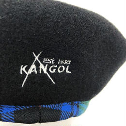 KANGOL 80th ANNIVERSARY WOOL MONTY (BLACK)