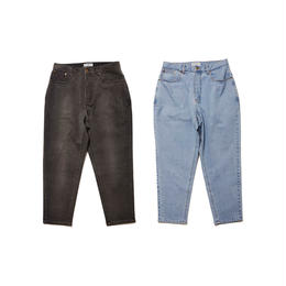 Evisen Skateboardsゑ TING TONG BAGGY DENIM (BLACK WASH, BLUE WASH)