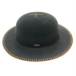 KANGOL LITE FELT BLANKET HAT BLACK, OLIVE