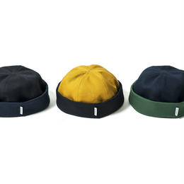 Tightbooth® COTTON ROLL CAP (Black×Navy, Navy×Green, Yellow×Black)