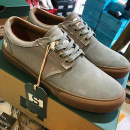 STATE FOOTWEAR ELGIN CANVAS (MID GREY / GUM)