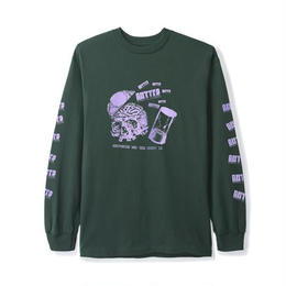 BUTTERGOODS ENEMY L/S TEE (FOREST)
