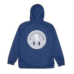 RIPNDIP EVERYTHING WILL BE OK ANORAK JACKET 3M (NAVY)