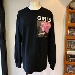 LONELY論理 GIRL L/S TEE (BLACK)
