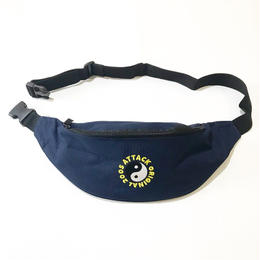 ATTACK ORIGINAL WAIST POUCH (NAVY)