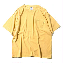 TIGHTBOOTH GARMENT DYED BIG TEE (GRAPE, AZUKI, YELLOW, EMERALD)