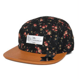 DL Headwear Omega 5Panel Camp Cap (black liberty)