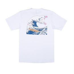 RIPNDIP  Great Wave Tee (White)