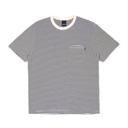 Only NY Mercer Stripe Pocket T-Shirt (White)