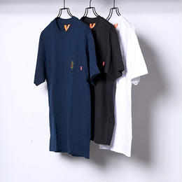 SNUFKIN x FLATLUX JOURNEY POCKET TEE (navy, black, white)