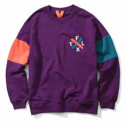 FLATLUX Rhode Crewneck (purple