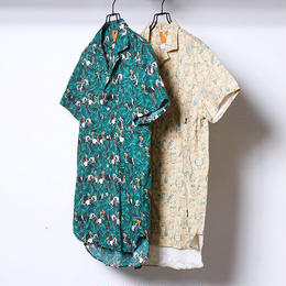 FLATLUX Dayoff Ss-Shirt (flamingo, owl)