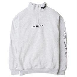 FLATLUX Ledd mockneck Sweatshirt (ash, black, forest)