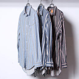 FLATLUX SEEIF Ls-SHIRT (light blue, dark blue, indigo)