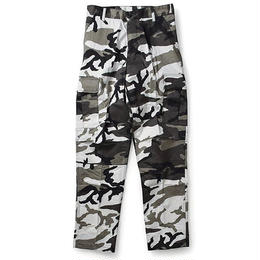 Rothco COLOR CAMO TACTICAL BDU PANTS (CITY CAMO)