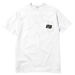 HOTEL BLUE KILLER POCKET T-SHIRT (WHITE)
