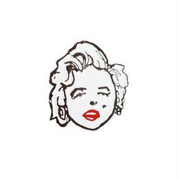 Theories Marilyn Monroe Enamel Pin