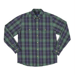 OnlyNY Lodge Flannel Shirt (NAVY)