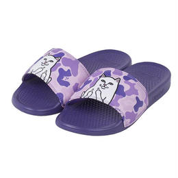 RIPNDIP LORD NERMAL SLIDES (PURPLE CAMO)