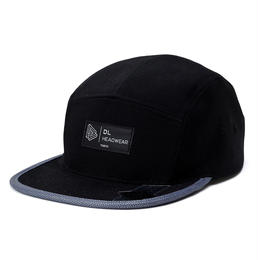 DL Headwear Omega 5Panel Camp Cap (3M brim)