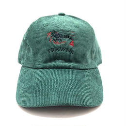 "ATTACK ORIGINAL PRAWNS ""corduroy cap"" (GREEN)"