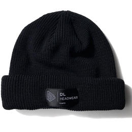 DL Headwear Kenny Cuff Knit (BLACK)