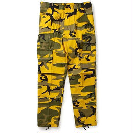 Rothco COLOR CAMO TACTICAL BDU PANTS (YELLOW CAMO)