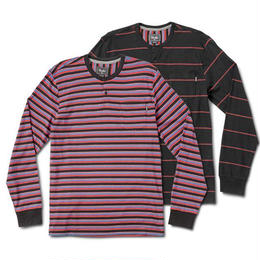 PRIMITIVE DRAKE L/S HENLEY (MULTI, BLACK)