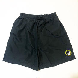 ATTACK ORIGINAL NYLON SHORTS (BLACK)