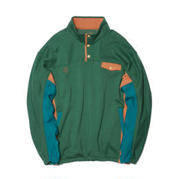 Evisen Skateboardsゑ DON BUTTON SWEAT (GREEN, BLACK, ASH GREY)