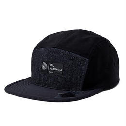 DL Headwear Omega 5Panel Camp Cap (black pattern)
