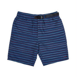 RIPNDIP PEEK A NERMAL NYLON BELT SHORTS (NAVY / RED)