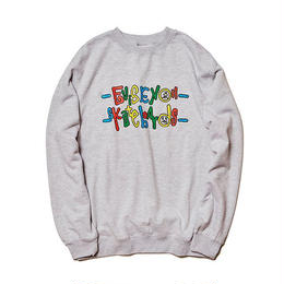 Evisen Skateboardsゑ FULFILL THE DREAM SWEAT (ASH)