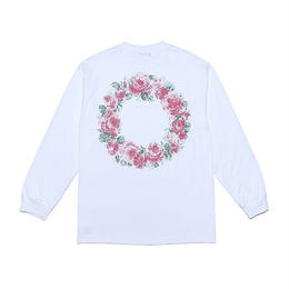 "LIXTICK ""NO ROSE WITHOUT THORNS L/S"" (WHITE)"