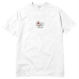 HOTEL BLUE MONEYS EVIL T-SHIRT (WHITE)