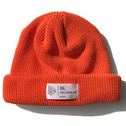DL Headwear Kenny Cuff Knit (ORANGE)