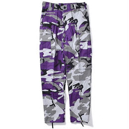 Rothco COLOR CAMO TACTICAL BDU PANTS (VIOLET CAMO)
