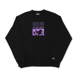 PIZZA FUCK THEN CHAMPION (BLACK)