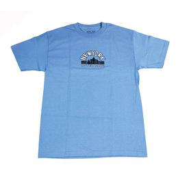 HOTEL BLUE SKYSCRAPER S/S TEE (ASH, CAROLINA BLUE)