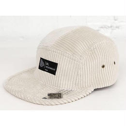 DL Headwear Omega 5Panel Camp Cap (beige fat cord)