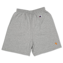 PIZZA Emoji Champion Shorts (Grey, Black)