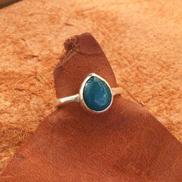 drop Turquoise ring