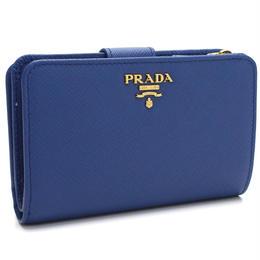 プラダ(PRADA)2つ折り財布小銭入れ付き