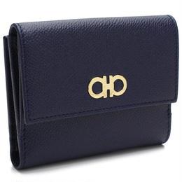 フェラガモ(FERRAGAMO) 2210 GANCINI Wホック財布