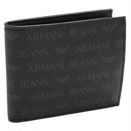 アルマーニ・ジーンズ (ARMANI JEANS) 二折財布小銭入付き938540 CC996 00020NERO ブラック