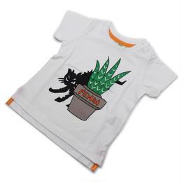 フェンディ (FENDI) ベビーTシャツ ベビー服BMI061 7AJ F0QA0ホワイト系サイズ(#12M)