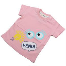 フェンディ (FENDI) ベビーTシャツ ベビー服BUI000 7AJ F0C11ピンク系サイズ(#18M)