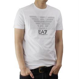 イーエーセブン (EA7) メンズTシャツ273917 6P237 00010WHITEサイズ(#L)