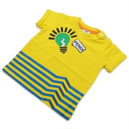 フェンディ (FENDI) ベビーTシャツ ベビー服BMI060 ST8 F0QF1イエロー系サイズ(#9M)