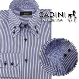 カディーニ (CADINI) メンズシャツPRESID3B2C SUPERTWILL 338 4 509ブルー系 サイズ(#38)